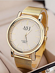 cheap -Women's Wrist Watch Casual Watch Alloy Band Analog Charm Fashion Gold - Golden One Year Battery Life / SSUO SR626SW