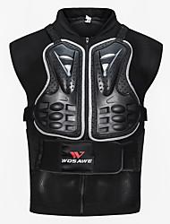 economico -WOSAWE Attrezzo protettivo del motocicloforGiacca di pelle Tutti PE / Tessuto in Tulle / EVA Resistente agli urti / Elastico / Attrezzatura di sicurezza