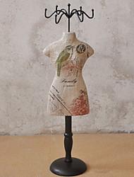 economico -Legno Rettangolare Nuovo design / Romantico / Creativo Casa Organizzazione, 1pc Supporti / Organizzatori di Gioielli