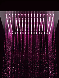 economico -Moderno Doccia a pioggia Cromo caratteristica - Con LED / Doccia, Soffione doccia