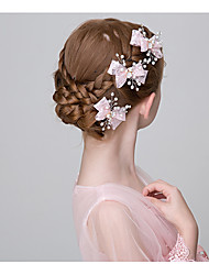 Недорогие -Жемчуг Зажим для волос с Цветы 3 Свадьба / На каждый день Заставка