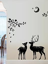 economico -Adesivi decorativi da parete - Adesivi aereo da parete Animali Camera da letto / Sala studio / Ufficio