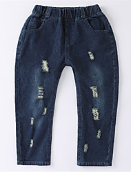cheap -Toddler Boys' Solid Colored Jeans
