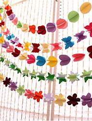 Недорогие -Свадьба / День рождения Чистая бумага Свадебные украшения Свадьба / День рождения / Сердце Все сезоны