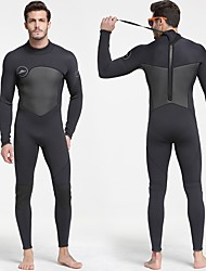 cheap -SBART Men's Full Wetsuit 5mm SCR Neoprene Clothing Suit Anatomic Design, Stretchy Long Sleeve Autumn / Fall / Spring / Summer