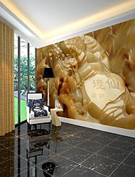 Недорогие -изготовленный на заказ большой топаз обоев настенной росписи высекая подходящий для покрытия стены предпосылки ТВ ресторана