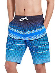 cheap -SBART Men's Swim Shorts Waterproof, Quick Dry, Wearable Polyester / Spandex Swimwear Beach Wear Board Shorts Reactive Print Surfing / Beach / Watersports / Stretchy