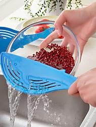 abordables -Herramientas de cocina El plastico Creativo / Desagüe Coladores y escurridores para vegetal 1pc