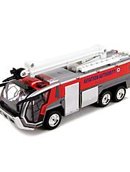 Недорогие -Пожарная машина Игрушечные грузовики и строительная техника Игрушечные машинки Модели автомобилей 1:60 пластик Детские Мальчики Девочки Игрушки Подарок