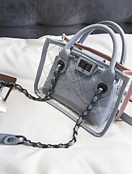 baratos -Mulheres Bolsas PU Conjuntos de saco 2 Pcs Purse Set Ziper Azul / Verde / Preto