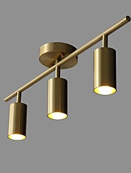billiga -QIHengZhaoMing 3-Light Spotlight Glödande 110-120V / 220-240V, Varmt vit, Glödlampa inkluderad