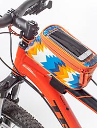 economico -ROSWHEEL Bag Cell Phone / Marsupio triangolare da telaio bici 5.7 pollice Schermo touch, Ompermeabile, Portatile Ciclismo per iPhone 8 Plus / 7 Plus / 6S Plus / 6 Plus / Altri telefoni dimensioni