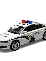 economico -Macchinine giocattolo Auto della polizia Autovetture / Auto Vista della città / Fantastico / squisito Metallo Tutti Per ragazzi Regalo 1 pcs