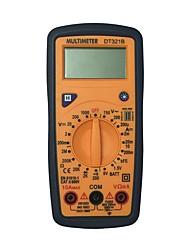 Недорогие -dt321b lcd портативный цифровой мультиметр, используемый для дома и автомобиля