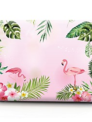 abordables -MacBook Etuis Flamant Plastique pour MacBook Pro 13 pouces / MacBook Pro 15 pouces / MacBook Air 13 pouces