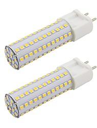 baratos -2pcs 9 W 820 lm G12 Luminárias de LED  Duplo-Pin T 108 Contas LED SMD 2835 Novo Design Branco Quente / Branco Frio 85-265 V