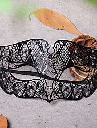 cheap -Holiday Decorations Halloween Decorations Halloween Masks Decorative Black 1pc