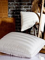 Недорогие -удобная верхняя подушка для постельного белья удобная / новая подушка для дизайна 95% гусиная пудра / 5% гусиное перо tencel
