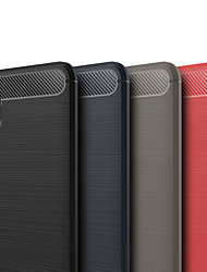 Недорогие -Кейс для Назначение Xiaomi Mi 8 Explorer Матовое Кейс на заднюю панель Однотонный Мягкий ТПУ для Xiaomi Mi 8 Explorer