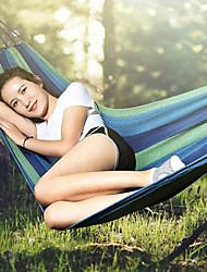 baratos -Rede de Acampamento Ao ar livre Dobrável Elastano, Poliéster para Campismo - 1 Pessoa Azul Escuro
