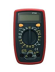 Недорогие -dt33c lcd портативный цифровой мультиметр, используемый для дома и автомобиля