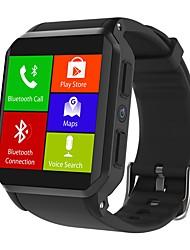 abordables -KING-WEAR® KW06 Montre Smart Watch Android 3G Bluetooth Sportif Imperméable Moniteur de Fréquence Cardiaque Ecran Tactile Podomètre Rappel d'Appel Moniteur d'Activité Moniteur de Sommeil Trouver mon