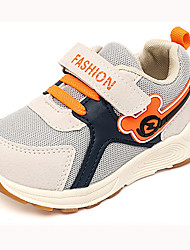 cheap -Girls' Shoes Mesh Fall & Winter Comfort Sneakers Walking Shoes Buckle for Kids Black / Gray / Purple