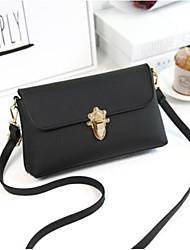 cheap -Women's Bags PU(Polyurethane) Mobile Phone Bag Buttons Green / Black / Purple
