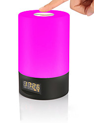 cheap -JIAWEN 1pc Alarm Clock Smart Night Light Colorful USB Smart / Dimmable / Color Gradient 5 V
