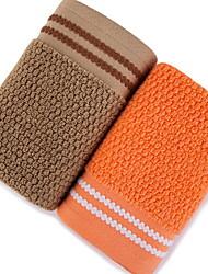 Недорогие -Высшее качество Полотенца для мытья, Геометрический принт 100% хлопок Ванная комната 2 pcs