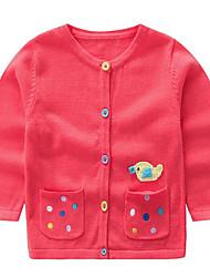 preiswerte -Baby Mädchen Druck Langarm Pullover & Cardigan