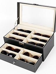 Недорогие -Место хранения организация Ювелирная коллекция пластик Прямоугольная форма Портативные