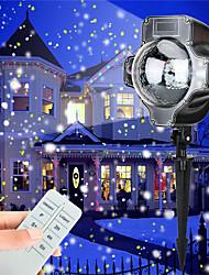 baratos -KWB 1pç 5 W Focos de LED Impermeável / Regulável / Decorativa Branco / Multicolorido 100-240 V Iluminação Externa / Pátio / Jardim 4 Contas LED