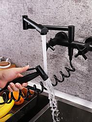 baratos Torneiras Cozinha-Torneira de Cozinha - Moderna Pintura bico padrão / pot Filler Montagem de Parede