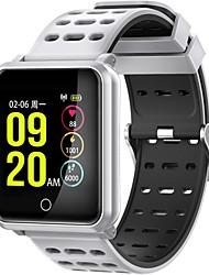 economico -Intelligente Bracciale JSBP-N88 per Android iOS Bluetooth Sportivo Impermeabile Monitoraggio frequenza cardiaca Misurazione della pressione sanguigna Schermo touch Pedometro Avviso di chiamata