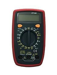 Недорогие -dt33b lcd портативный цифровой мультиметр, используемый для дома и автомобиля