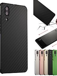 abordables -Coque Pour Huawei P20 / P20 Pro Antichoc / Plaqué Coque Couleur Pleine Dur Aluminium pour Huawei P20 / Huawei P20 Pro / Huawei P20 lite / P10 Plus / P10 Lite / P10