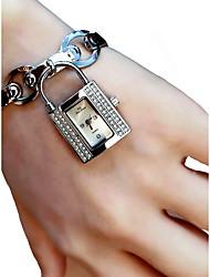 baratos -Mulheres Relógio de Pulso Cronógrafo / Luminoso / Adorável Lega Banda Fashion / Elegante Prata