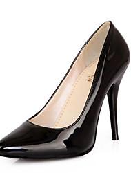 Недорогие -Жен. Обувь на каблуках На шпильке Лакированная кожа Удобная обувь Весна Черный / Желтый / Зеленый / Повседневные
