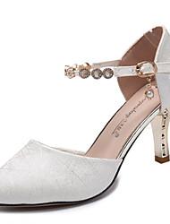 povoljno -Žene Cipele PU Ljeto D'Orsay cipele Cipele na petu Stiletto potpetica Krakova Toe Obala / Bež / Pink / Zabava i večer