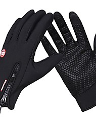 cheap -Sports Gloves Sports Gloves / Winter Gloves / Bike Gloves / Cycling Gloves Windproof / Waterproof / Keep Warm Touch Screen Gloves 100% Polyester / Poly urethane / Silicone Gel Road Cycling / Outdoor