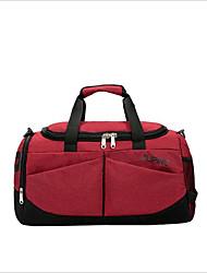 cheap -Nylon Travel Bag Zipper Dark Blue / Pale Blue / Light Grey
