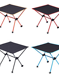 cheap -Camping Table Outdoor Lightweight, Portable, Folding Oxford Cloth, Aluminium for Hiking / Beach / Camping Black / Orange