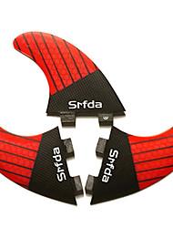 baratos -Srfda Quilhas de Surf Fibra de Vidro Libertação Rápida - Prancha de SUP / Pranchas de Longboard / Prancha de Surf 3 pcs