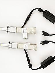 Недорогие -2pcs H10 / H9 / H7 Автомобиль Лампы 45 W Высокомощный LED 6000 lm 2 Светодиодная лампа Налобный фонарь Назначение Универсальный Универсальный Все года