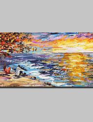 baratos -mintura® pintados à mão faca pintura a óleo sobre tela moderna abstrata paisagem retrato da arte da parede para decoração de casa pronto para pendurar