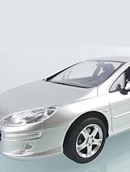 baratos -Carro com CR Rastar 40700-2 4CH 27MHz Carro 1:14 8 km/h KM / H Controle Remoto / Luminoso