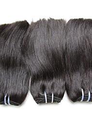 Недорогие -Необработанные / Не подвергавшиеся окрашиванию плетение волос Для темнокожих женщин / 100% девственница / Необработанные Бразильские волосы 12 дюймы 0.08kg Более года Подарок / Wear to work / Школа