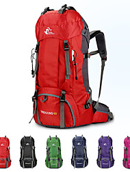 cheap -60 L Rucksack - Rain-Proof, Fast Dry, Wearable Outdoor Hiking, Camping, Travel Polyester Fuchsia, Red, Green