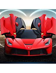 Недорогие -Машинка на радиоуправлении Rastar 50160-15 10.2 CM Инфракрасный Автомобиль 1:14 8.5 km/h КМ / Ч Светодиодная лампа / На пульте управления